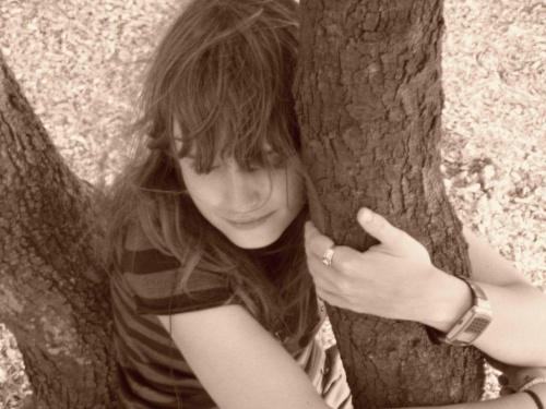 #drzewo #dziewczyna