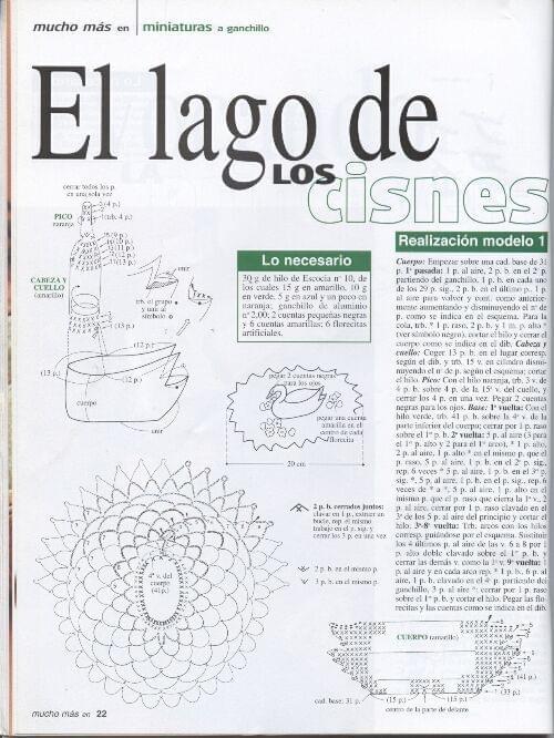 szydelkowe wzory i schematy