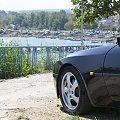 Sportowy samochód i bułgarski port #Auto #Porsche #Samochód #Bryka #samochod #Porsche928