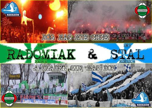 Braci sie nie traci #RKS #Radomiak #StalRzeszów #ZKS