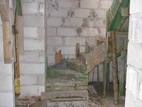 Nie jest źle z tymi schodami obawiałam się że może być gorzej #BudowaAgatkaIngProjekty
