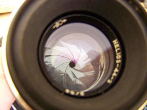 Obiektyw Helios od Zenitha #obiektyw #fotografia