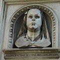 postać z białą twarzą #cmenatrz #rzym #roma #głowa #twarz