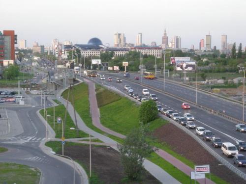 2008-05-06 Budowa wiaduktu nad Rondem Dudajewa