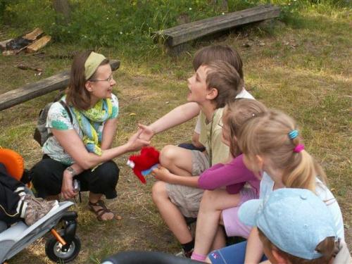 Popołudniowe zajęcia #dzieci #Jedlnia #komunikacja