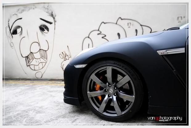 Nissan GT-R Matt Black