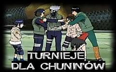 Turnieje dla Chuninów, o pieniądze i range Jounina. </div> </div> </td> <td class=