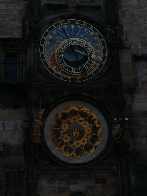 Średniowieczny Orloj - zegar z 1410 r. #Praga