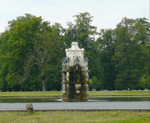 Bushy Park - fontanna Artemidy (Diany) #Hampton #Londyn