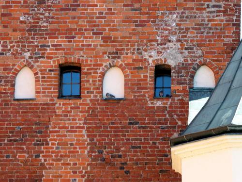 #gołębie #mur #okna