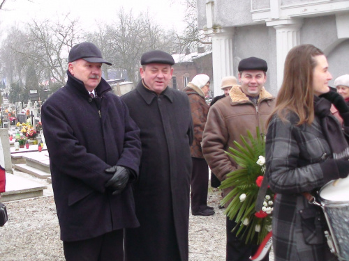 Miłośnicy Strzelna w rozmowie c członkiem honorowym TMMS, znawcą dziejów ziemi mogileńskiej, regionalistą Przemysławem.