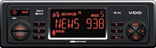 VDO TR114 potrzebny dump eepromu do tego radia. Usterka procesora dźwięku?