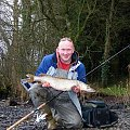84 cm szczuplego #szczupak #muckno #szaman #jezioro #irlandia #lake #spininng