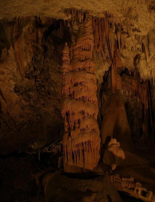 Cuda w jaskini. Postojna to jaskinia krasowa, jedna z największych na świecie. W jaskini można podziwiać białe stalaktyty tworzące różnorakie sople i spaghetti, stalagmity tworzące kolumny, filary, niesamowite draperie. #Słowenia #jaskinia