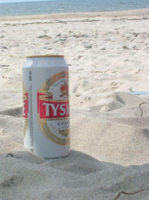 #tyskie #piwo #plaża