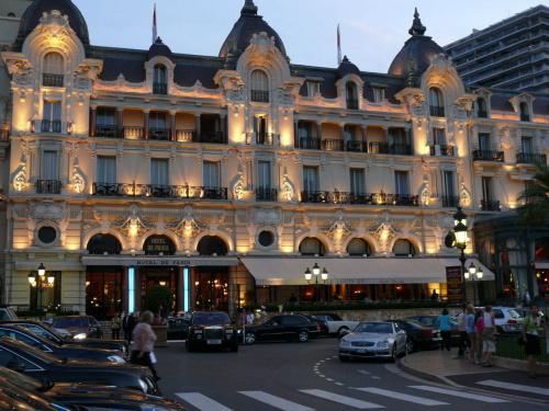 Hotel de Paris ze słynną Cafe de Paris #MonacoIMonteCarlo