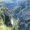 Grand Canyon du Verdon, Point Sublime - jeden z najlepszych punktów widokowych #CanionDuVerdon #Francja #Prowansja