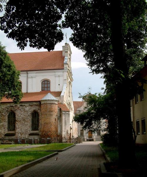 Kościół Wniebowzięcia Najświętszej Marii Panny (Franciszkanów) #Wilno #kościoły
