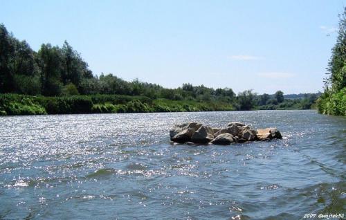 ...w samo południe.... #lato #rzeka #San